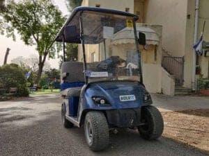 רכב תפעולי קלנועית וולוית