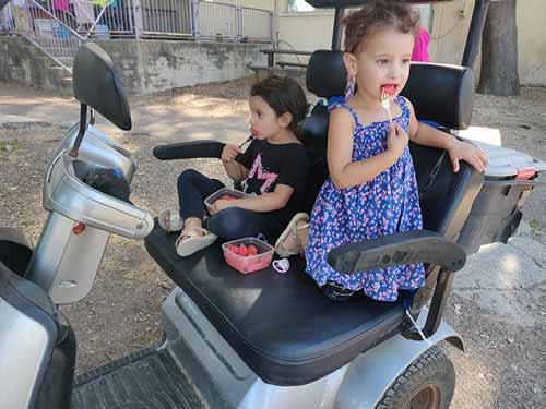 קלנועית זוגית מתאימה למשפחות
